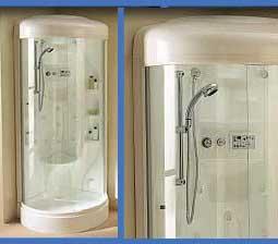 Idromassaggio manuale o digitale 6 getti dorsali 2 cervicali e 3 lombari funzione continuo - Cabine doccia multifunzione albatros ...