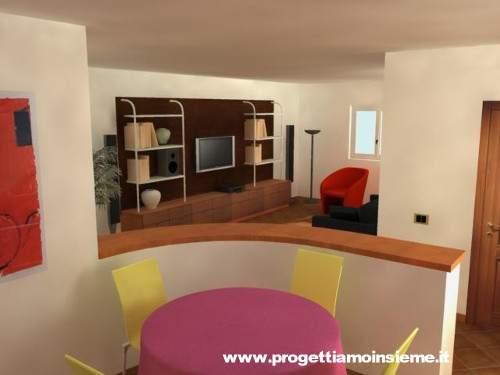 Camera Da Letto E Soggiorno Insieme : Progettiamo Insieme ...