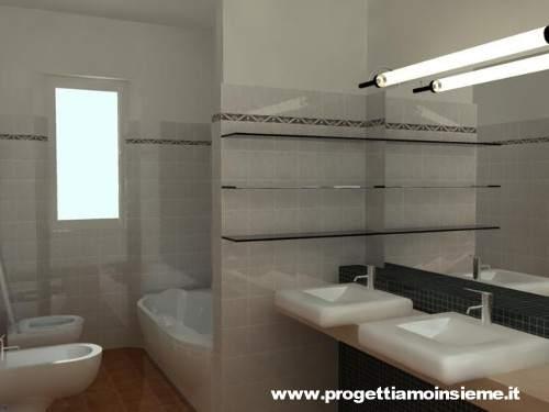 Vasca Da Bagno Con Muretto : Progettiamo insieme arredamento e ristrutturazione architettura