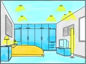 Progettiamo insieme domande frequenti - Illuminare la camera da letto ...