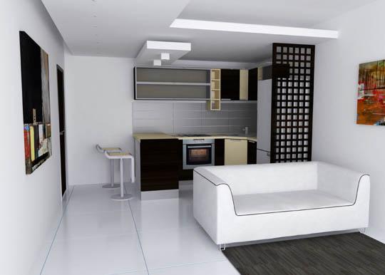 Parete attrezzata con divano sotto idee per il design - Parete attrezzata con divano ...