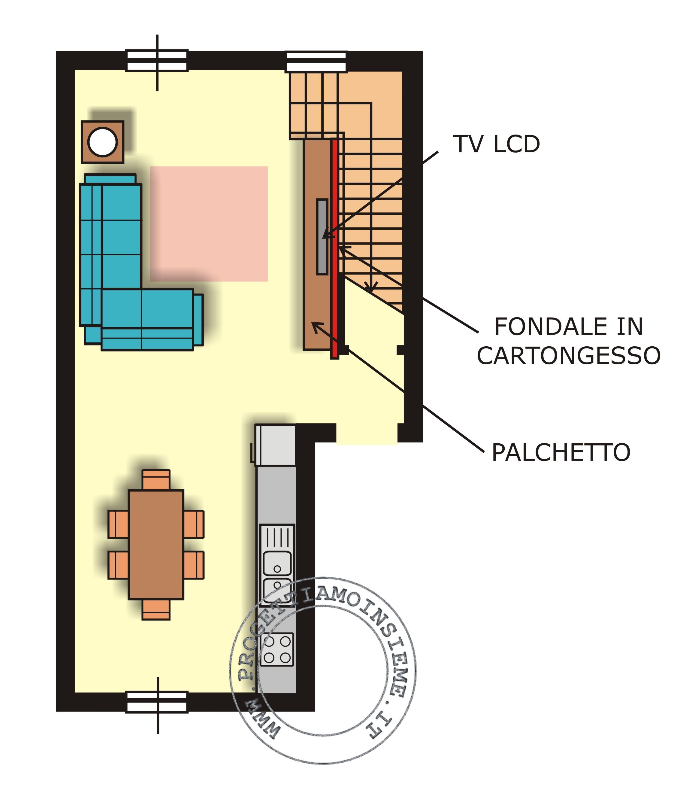 Tavolo Davanti Al Divano: Come organizzare il soggiorno di ...