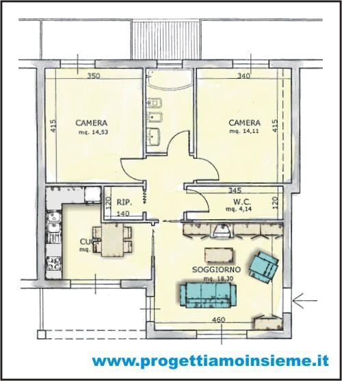 Beautiful sala e cucina insieme photos home interior for Sala e cucina insieme