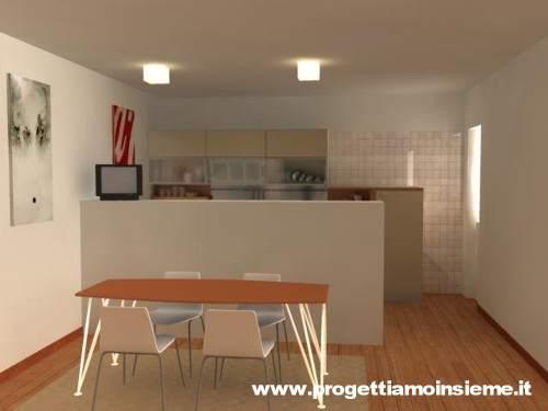 Cucina e salone insieme ~ neburisky.net